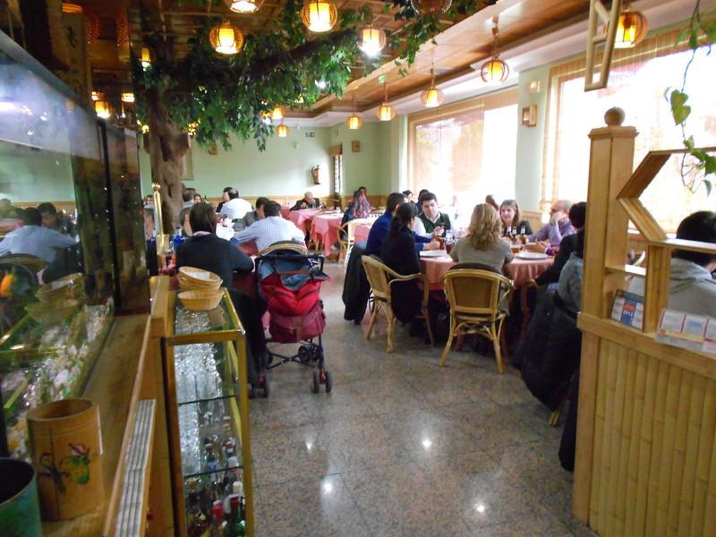 Restaurante chino jardin de bambu con cenos for Restaurante chino jardin